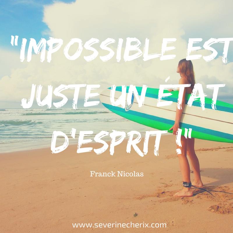 impossible surf pensées