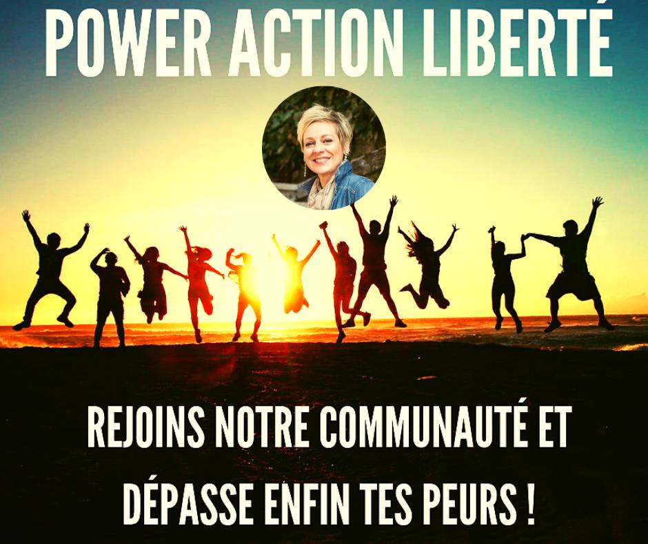communauté power action liberté