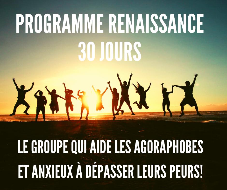 programme renaissance agoraphobes solutions