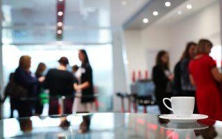l'anxiété au travail, cafétaria, détente, stress
